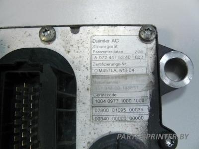 Блок управления двигателем PLD(05 2008) Мерседес OM457-OM942LA IV