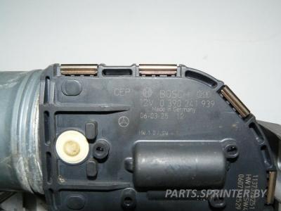 Электромотор стеклоочистителя лобового стекла Мерседес 221