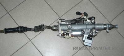 Колонка рулевая полностью с электро регулировкой W210