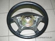 Рулевое колесо (кожа) Мерседес 124/202/210